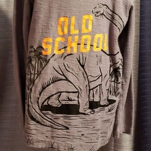 jumping beans Dinosaur LS Grey T-Shirt Boys/7